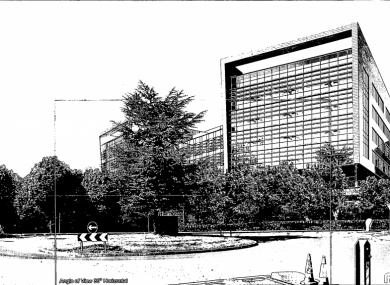 How the building will look, according to the plans.