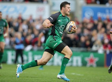 Connacht back Robbie Henshaw will look forward to facing Bayonne, La Rochelle and Exeter.