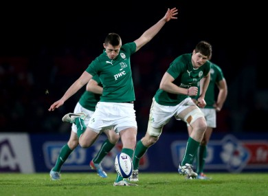 Out-half Ross Byrne and No. 8 Jack O'Donoghue led the Irish efforts superbly.