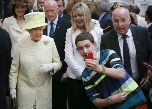 Royal visit to Ulster - Day 2