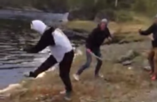 Watch the exact moment a stag party went horribly wrong