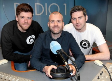 Mark Horgan, Eoin McDevitt and Ciarán Murph