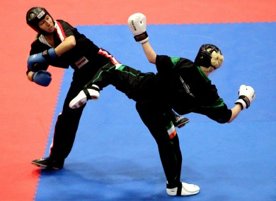 Ireland has enjoyed considerable success in kickboxing of late, with several athletes, including Shauna Bannon (pictured) winning gold me