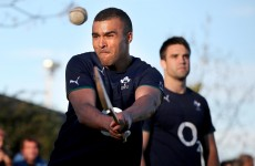 Murray, Zebo and Ah You have been hurling at Ireland training in Argentina