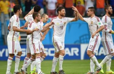 As it happened: Spain v Holland, World Cup 2014 Group B