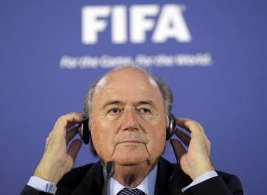 Blatter believes that the Qatar corruption allegations are fuelled by racism.