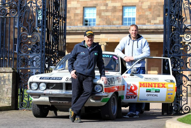 Stephen Ferris with Jimmy McRae