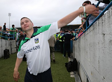 TJ Ryan celebrates after Limerick's win.