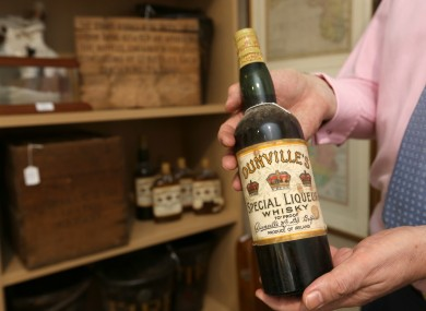 Dunvilles Three Crowns Whisky from Belfast.