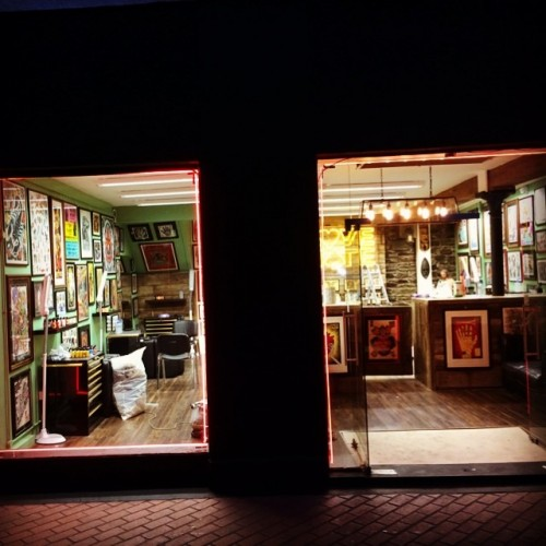 Ami from miami ink is opening a tattoo parlour in cork for Tattoo cork ink