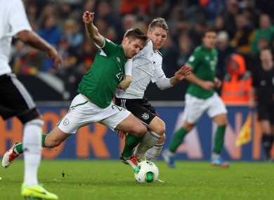 Just the 69 ranking places separate Kevin doyle and Bastian Schweinsteiger.