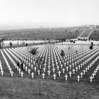 An American cemetery near Verdun, France.<span class=