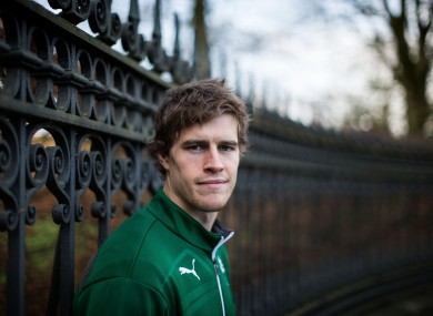 Andrew Trimble was named IRUPA player of the year last season.