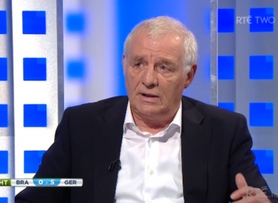 Eamon Dunphy believes Brazil's best players have been coached to within an inch of their previously skillful lives.