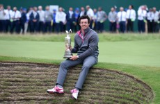 McIlroy aims to build on Open success and complete career slam at Augusta next year