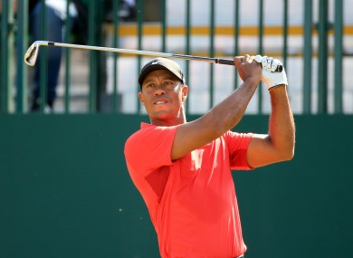 Tiger Woods finds himself way down the Ryder Cup points list.