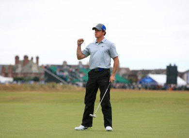 Rory McIlroy is not taking anything for granted.
