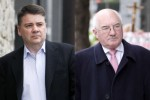 Former Anglo Irish Bank Executives Patrick Whelan (L) and Willie McAteer (R)