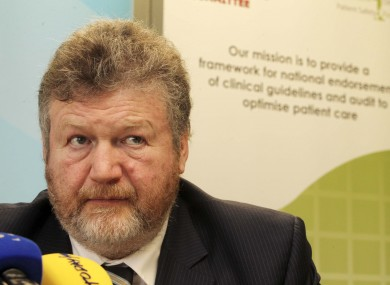 James Reilly (File photo)