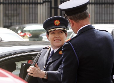 Acting Commissioner Noirín O'Sullivan.