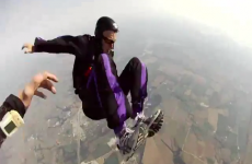 Watch hero friends rescue skydiver who passed out mid-freefall