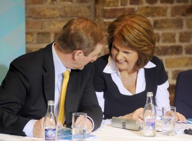 Enda Kenny and Joan Burton will be locked in talks this evening.