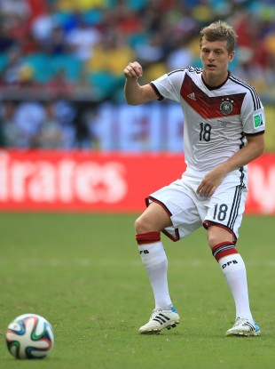 Kroos has been linked with a switch to Real Madrid.