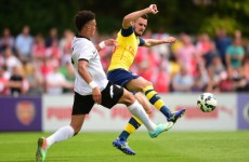 Arsenal get a tough workout in their first pre-season game against Boreham Wood