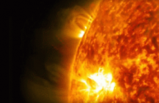 NASA captures stunning footage of rare solar flare