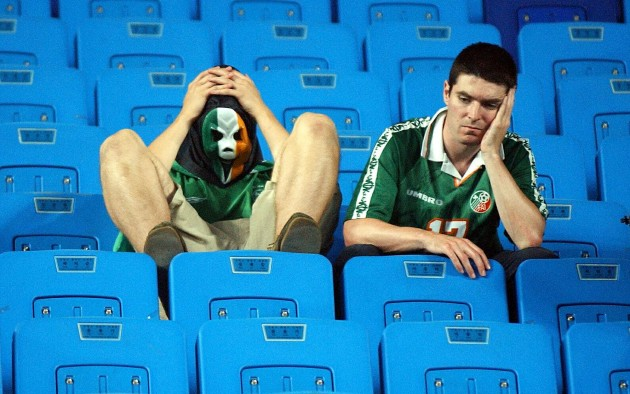 Spain v Rep of Ireland fans