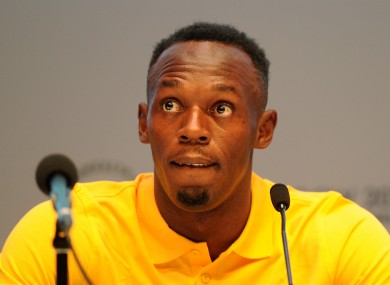 Bolt is not happy with reports that he criticised Glasgow.