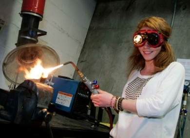 Engineering student Iseult O' Donnell.