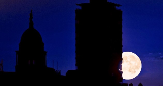 PICS: The 'super moon' over Ireland
