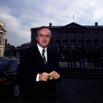 Reynolds returning to the Dáil as a backbench TD after losing his position as Minister for Finance.
