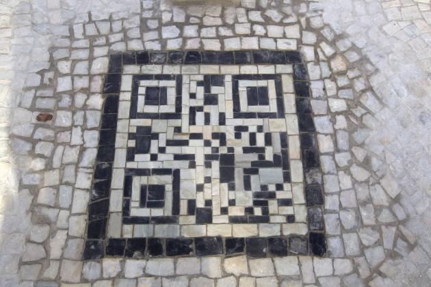 Brazil Sidewalk Bar Codes