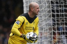 Liverpool keeper Reina on the verge of Bayern Munich move