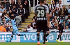 This classy David Silva strike helped Man City overcome Newcastle today
