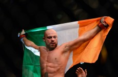 Cathal Pendred added to UFC Fight Night Stockholm card