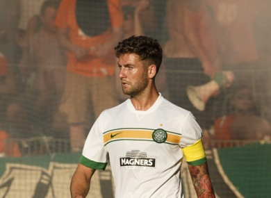 Celtic captain Charlie Mulgrew.