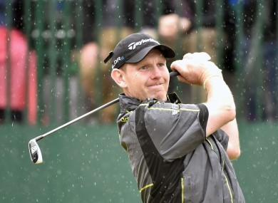 Scotland's Stephen Gallacher just missed out on a Ryder Cup place today.