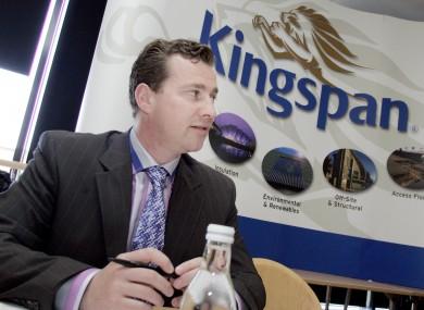 Kingspan chief executive Gene Murtagh