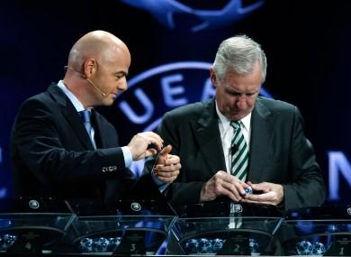 UEFA General Secretary Gianni Infantino.