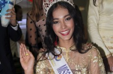 Beauty queen runs off with her tiara 'and free breast implants'