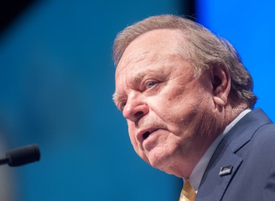 Harold Hamm - may be about to become a lot less rich.
