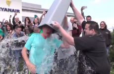 Michael O'Leary's ice bucket challenge is the most Michael O'Leary thing ever