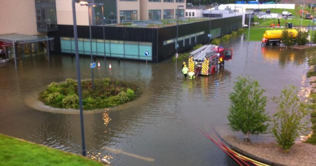 Investigation begins after flooding closes Letterkenny emergency department