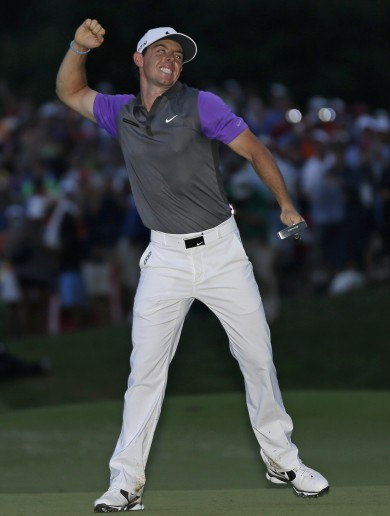 'I wanted to get it done and get out of here' — Rory McIlroy wins PGA championship in the dark