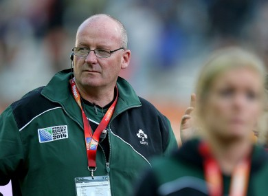 Doyle first took the Ireland job in 2003.