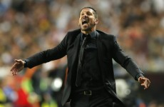 Diego Simeone banned for eight games after Super Cup histrionics