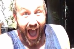 Chris O'Dowd makes baby announcement in an ice bucket challenge